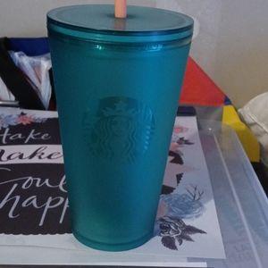 Brand new green starbucks cup